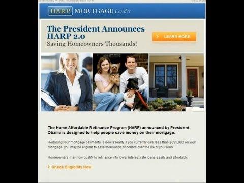Obama / HARP Program E-mail Scam 2013
