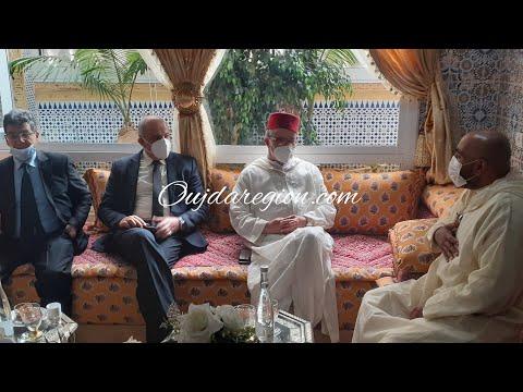 اوجار في بيت الحاج المختار بودشيش لتقديم التعازي
