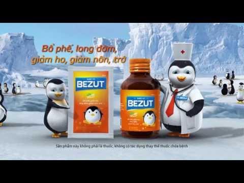 TVC thuốc ho Bezut - Phim quảng cáo thuốc ho  Bezut