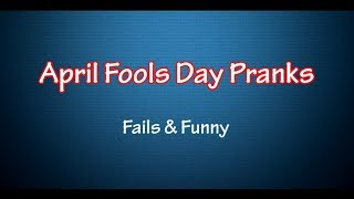[[Tutorial] Best April Fools Day Pranks - April Fools Pranks] Video