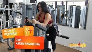 Karen Ranocchia - Glúteos na máquina