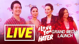 """""""I Love you, Hater"""" Grand Media Launch"""