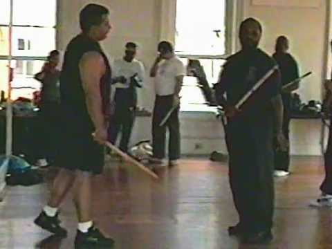 Modern Arnis - Stick Disarming/Countering Principles & Empty Hand Concepts (Vintage Footage)