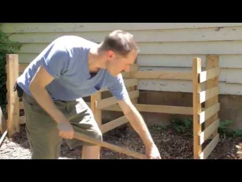 Compost Bin Construction