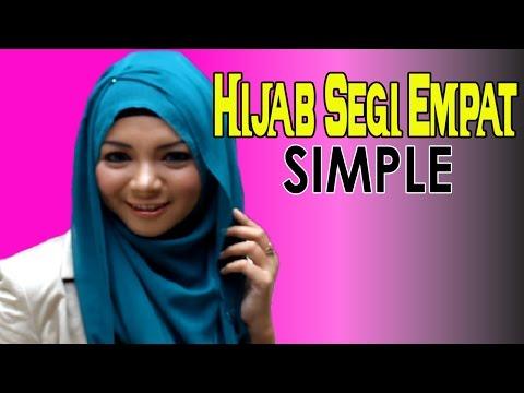 Video Cara Memakai Jilbab Paris Segi Empat Modern Simple by #Revi 225