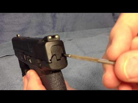M&P Pistol Test For Gritty Trigger Pull