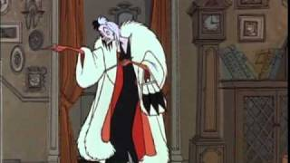 """Cruella De Vil"" From 101 Dalmations SPANISH Version"