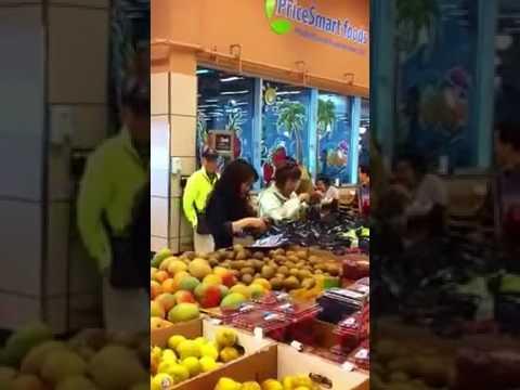 偷换大鸡蛋水果随意试吃 美加华人购物挑拣引争议