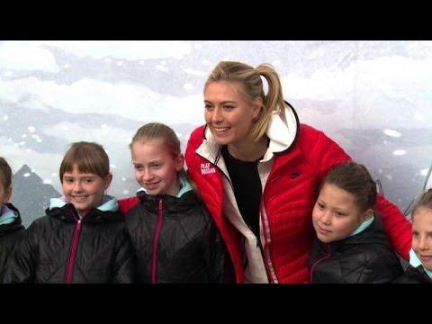 JO-2014: Maria Sharapova, fille et ambassadrice de Sotchi
