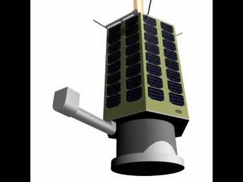 3D Model of Iranian Satellite Rasad-1