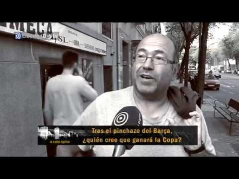 La calle opina: El favorito en la Copa del Rey es el Madrid