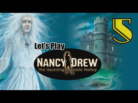 Nancy Drew 19: Haunting of Castle Malloy [05] w/YourGibs - LEPRECHAUN SHAMROCK GARDEN PUZZLE