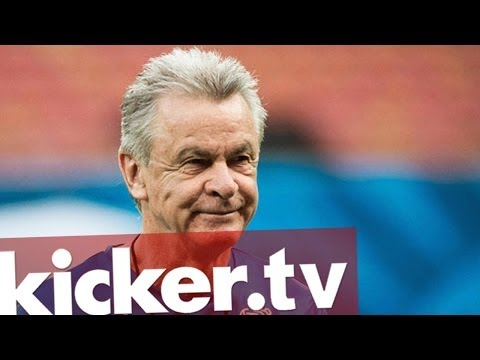 Ottmar Hitzfeld - Zum Abschied Geschichte schreiben - kicker.tv