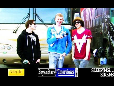 Sleeping With Sirens Interview Kellin Quinn & Justin Hills UNCUT 2013