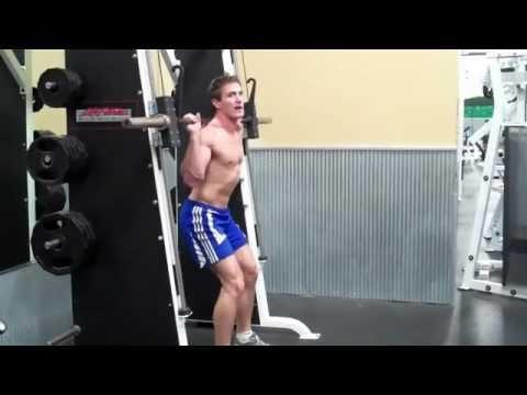 angled squat machine