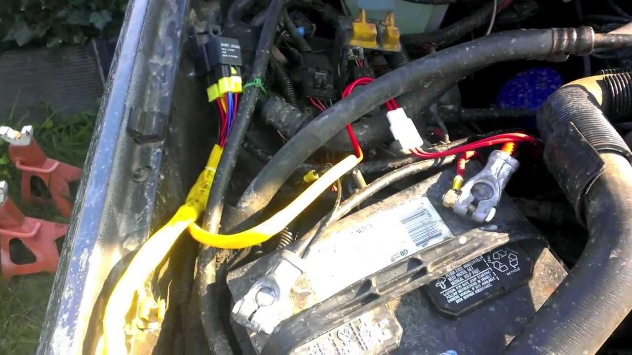89 Cherokee Headlight Wire Harness Upgrade
