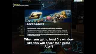 Need For Speed World 500 Boost Glitch [2014]