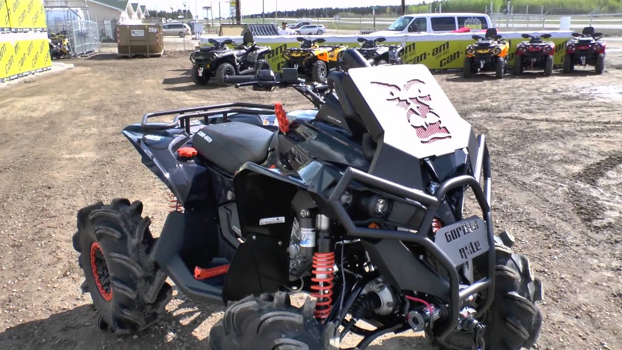 Jacked Up! Modified Can-am Renegade 1000's from the 13 ...