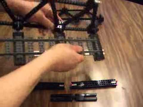 Lego Technic Warren Truss Bridge Assembly