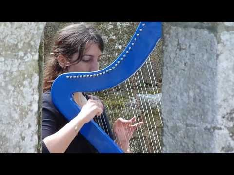 Nightwish - While Your Lips Are Still Red - harp / harpe / 竖琴
