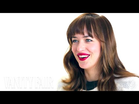 Dakota Johnson Poses for the Vanities Opener