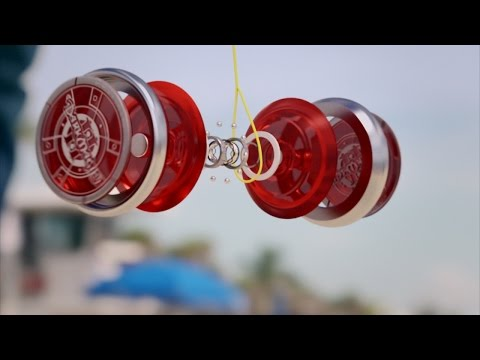 A Yoyo Can Spin as Fast as a Formula 1 Engine
