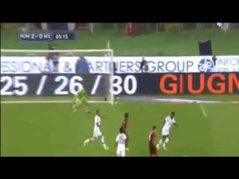 Roma vs Milan (2-0) All Goals[25/4/2014]
