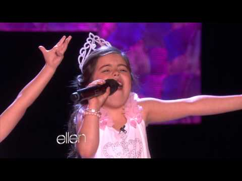 Sophia Grace and Rosie Sing 'Rolling in the Deep', They're back! And this time, they performed another chart-topping hit. Sophia Grace and Rosie sang Rolling in the Deep.&quot; From rap to a soulful jazz song, th...