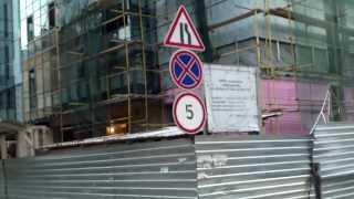 Șantier periculos în spatele Procuraturii Centru/Generale