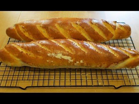 Cách Làm Bánh Mỳ Pháp French Baguette