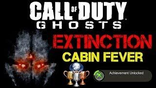 "CoD Ghosts Extinction ""Cabin Fever"" Achievement / Trophy"