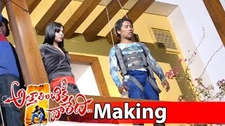 Attarintiki Daredi Movie Making| Samantha Fall Down From