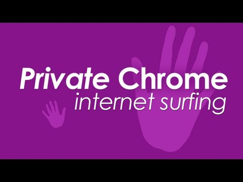 Open Private Browsing mode in Google Chrome