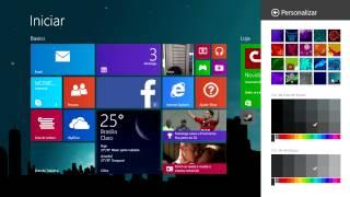 Windows 8.1 Como Mudar O Papel De Parede Do Menu Iniciar