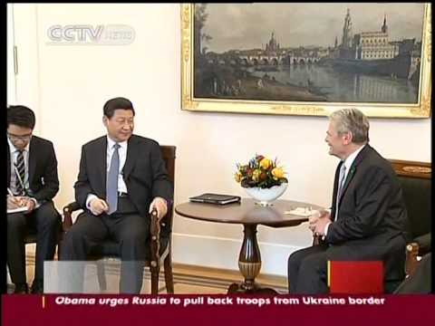 Chinese President Xi Jinping arrives in Berlin for Germany visit