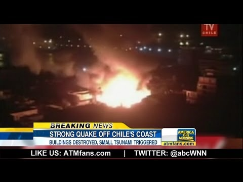 ABC World News Now - Deadly Earthquake Strikes Off Chile's Coast