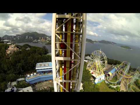 Abyss Turbo Drop, Ocean Park, Hong Kong.