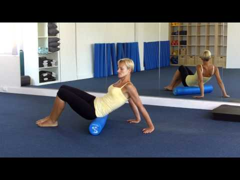 Pilates Foam Roller - Buttocks & Hip Massage