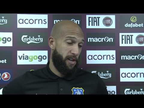 Tim Howard on his penalty save against Aston Villa