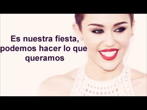 We Can't Stop - Miley Cyrus (TRADUCIDO AL ESPAÑOL)