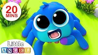 Itsy Bitsy Spider, Finger Family Peekaboo, Baby Panda Healthy Habits, Nursery Rhymes by Little Angel