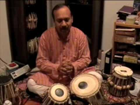 Tabla Lesson 2 with Debu Nayak - Teen Taal