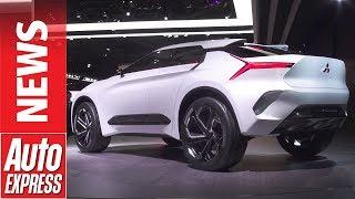 Mitsubishi Evo returns in e-Evolution electric concept form. Auto Express.