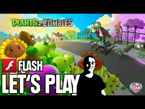 Let's Play Flash - Plants VS Zombies - Unser Garten [Full-HD Gameplay] [Deutsch]