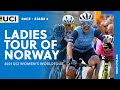 Chloe Hosking wins 4th stage Ladies Tour of Norway 2021