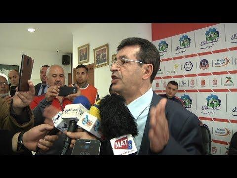 عبد المالك ابرون يشكر الجماهير التطوانية على مساندتها للفريق