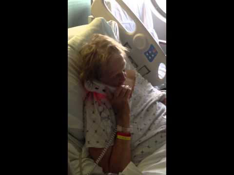 Mom on Phone with Cheryl 4-22-14
