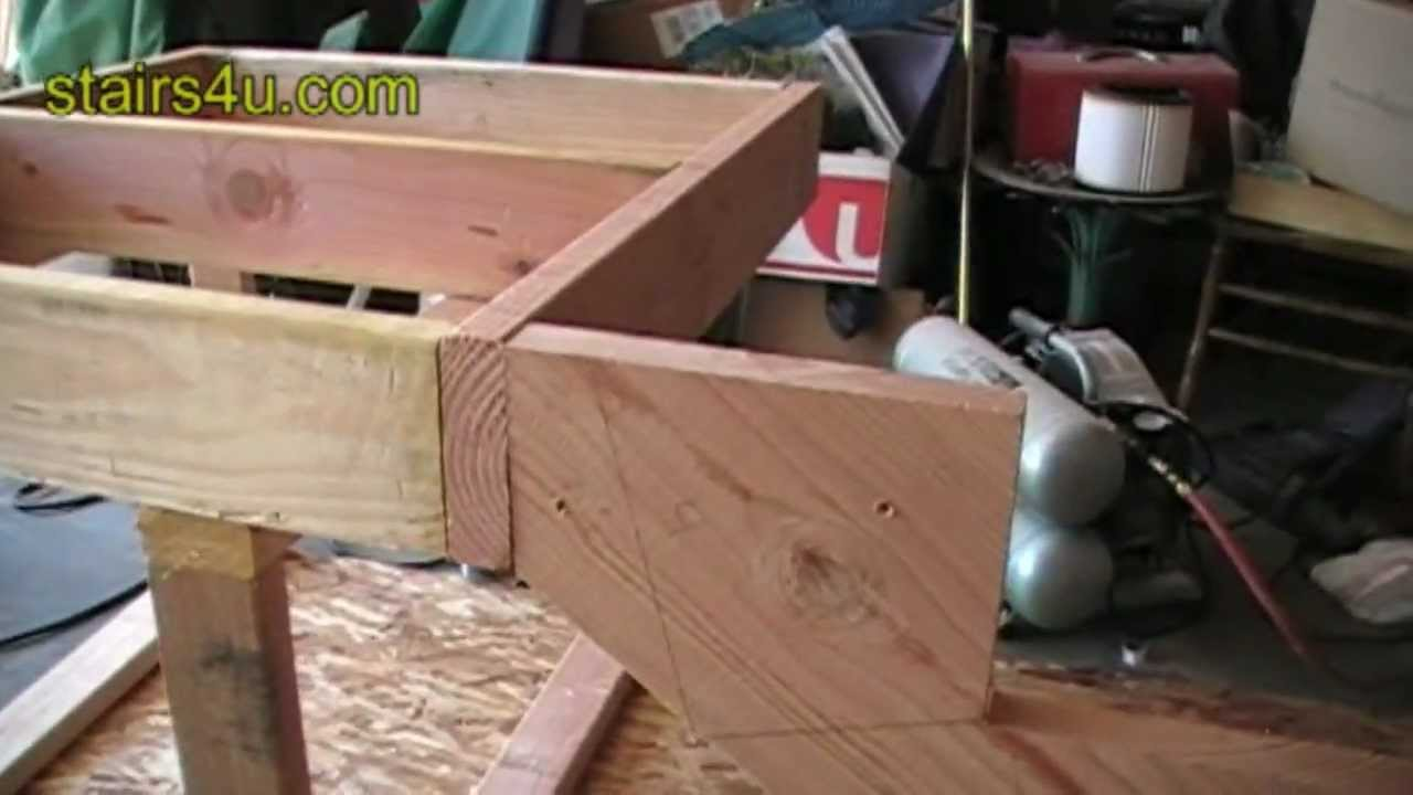 Attaching Stringer to Floor Joist Cantilever - Stair ...