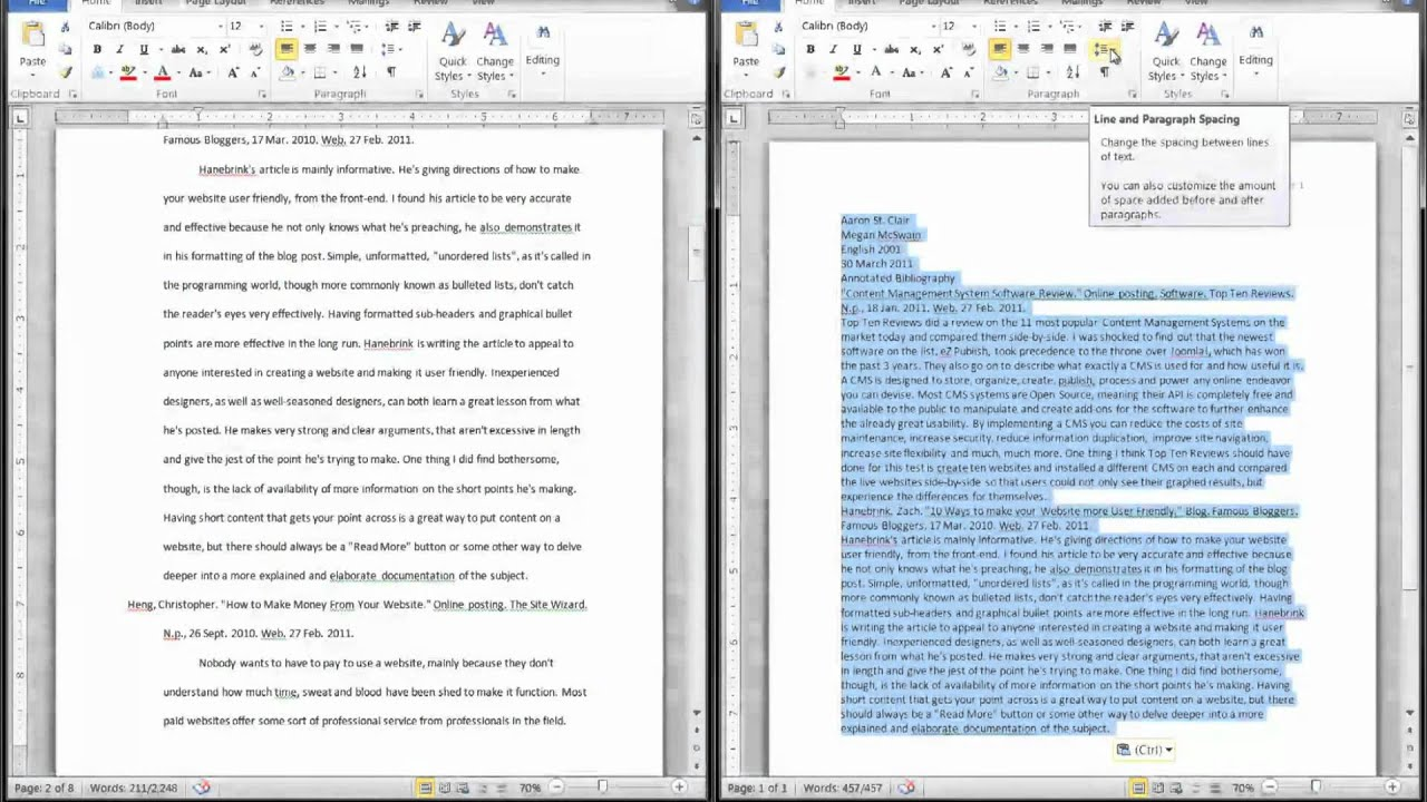 Annotated Bibliography Apa Style Examples Pictures to pin on Pinterest