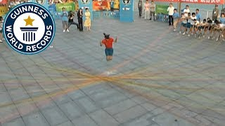 Most ropes skipped - Guinness World Records